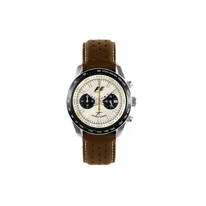 Jacques Lemans Formula 1 Chrono 1970 F-5019B