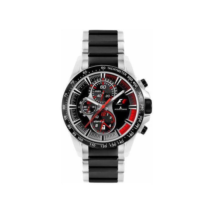 Jacques Lemans Formula 1 Ceramic-Chrono F-5028B