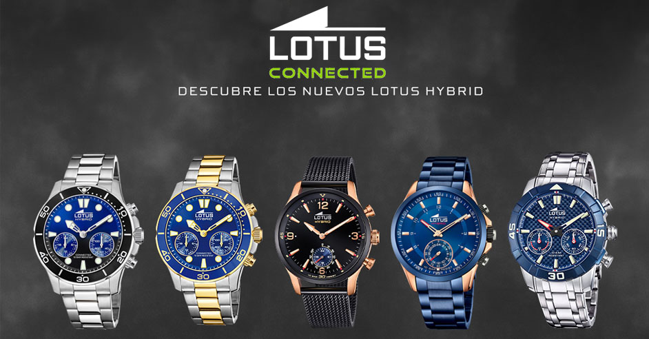 LOTUS-CONNECT-REGALARELOJES